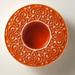 barokowy śr.10cm orange