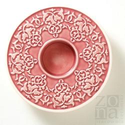 roślinny śr.12,5cm pink
